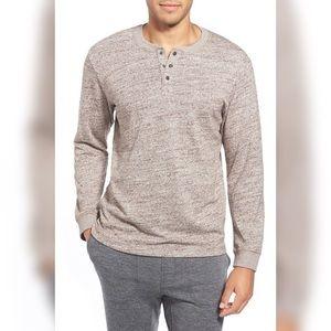 Ugg Cotton Blend Galen Henley Henley Shirt
